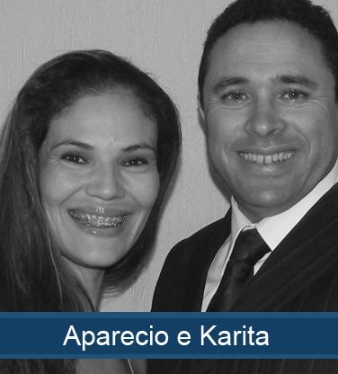 Aparecio e Karita